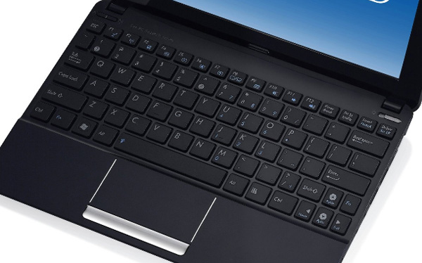 Chiclet keyboard and improved trackpad