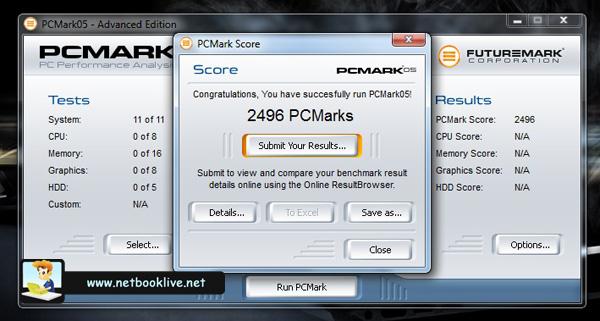 PC Mark 05