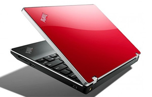 Glossy lid cover on this Lenovo ThinkPad Edge 11