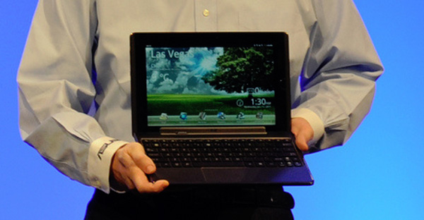 Asus Transformer looks like a regular 10 inch netbook