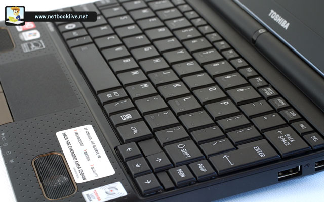 Keyboard is a mix of Full-Size keys and narrow cramped ones