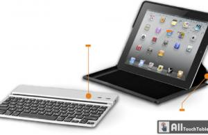 You can use the keyboard as far as 10 feet from the iPad 2