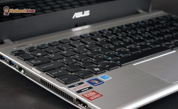 The AMD platform inside makes the Asus 1225B versatile for daily use and multimedia