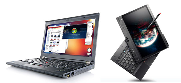 Business 12 inchers: Lenovo ThinkPad X230 and X230 Convertible Tablet