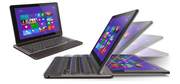 Toshiba U920T hybrid ultrabook - different, but not necesarily better