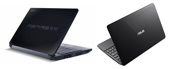 The Acer Aspire One D270 and Asus 1015E are some of the last netbooks you can find in stores these days