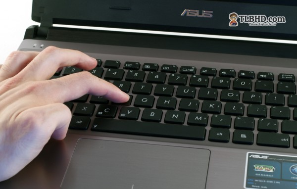 I liked the keyboard, but the trackpad is pretty bad