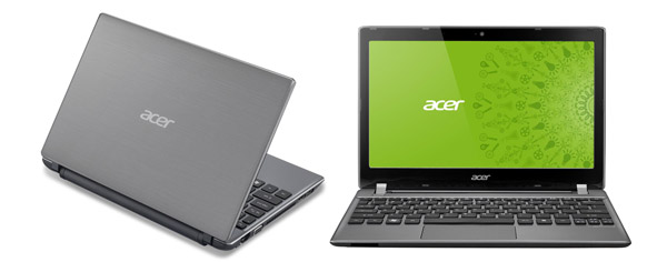 The Acer Aspire V5 is all about delivering top features for a low price point