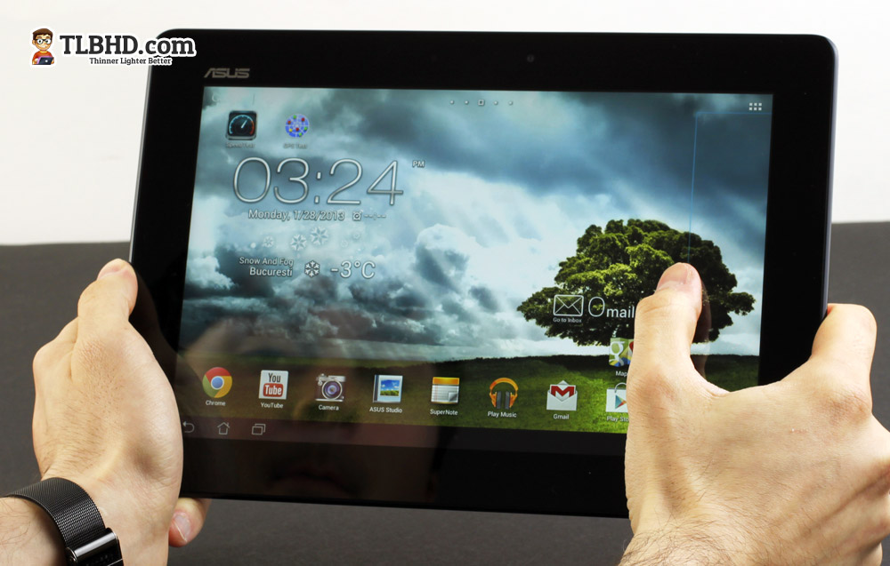 The 10 inch Asus MemoPad Smart ME301T