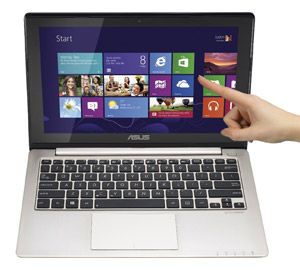 Asus VivoBook X202 - ultrabook with a touchscrene, for less than $500