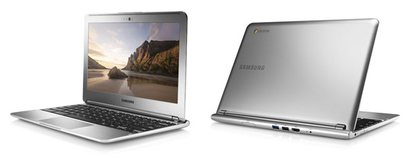 The Samsung Chromebook is more expensive, but also sleeker, lighter and better equipped