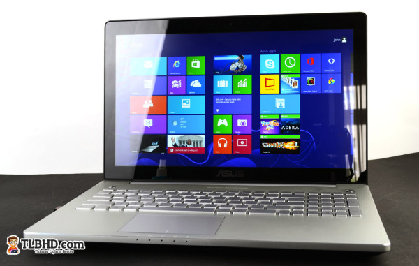Full HD IPS Touchscreen on this top version of the Asus N550JV