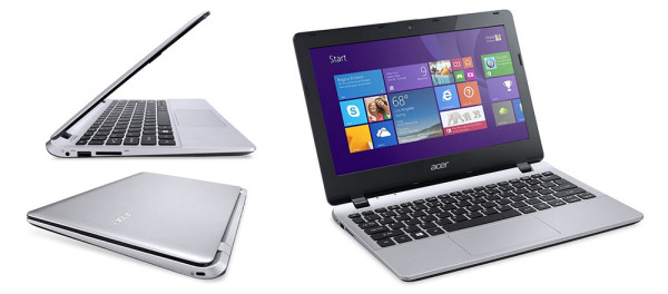Acer Aspire E3 - one of the most inexpensive Windows 8 mini-laptops