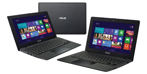 The Asus S200LA is bulkier, heavier and made of plastic, but packs a bigger battery and an updated Intel Core i3 Haswell processor