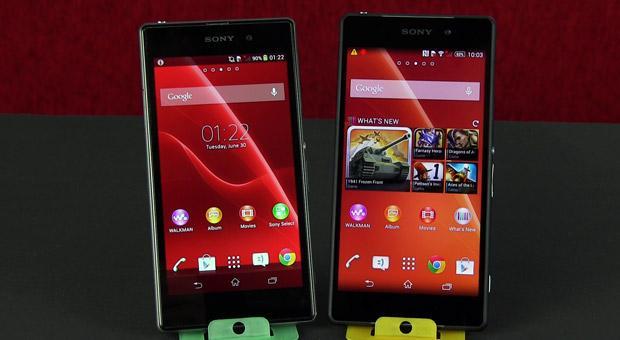 Sony Xperia Z2 vs Xperia Z1 detailed comparison
