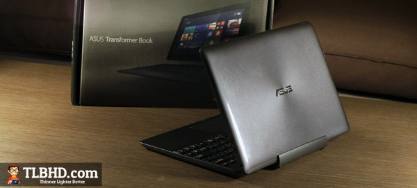 The Asus Transformer Book T100 - an affrodable 2 in 1 laptop/tablet