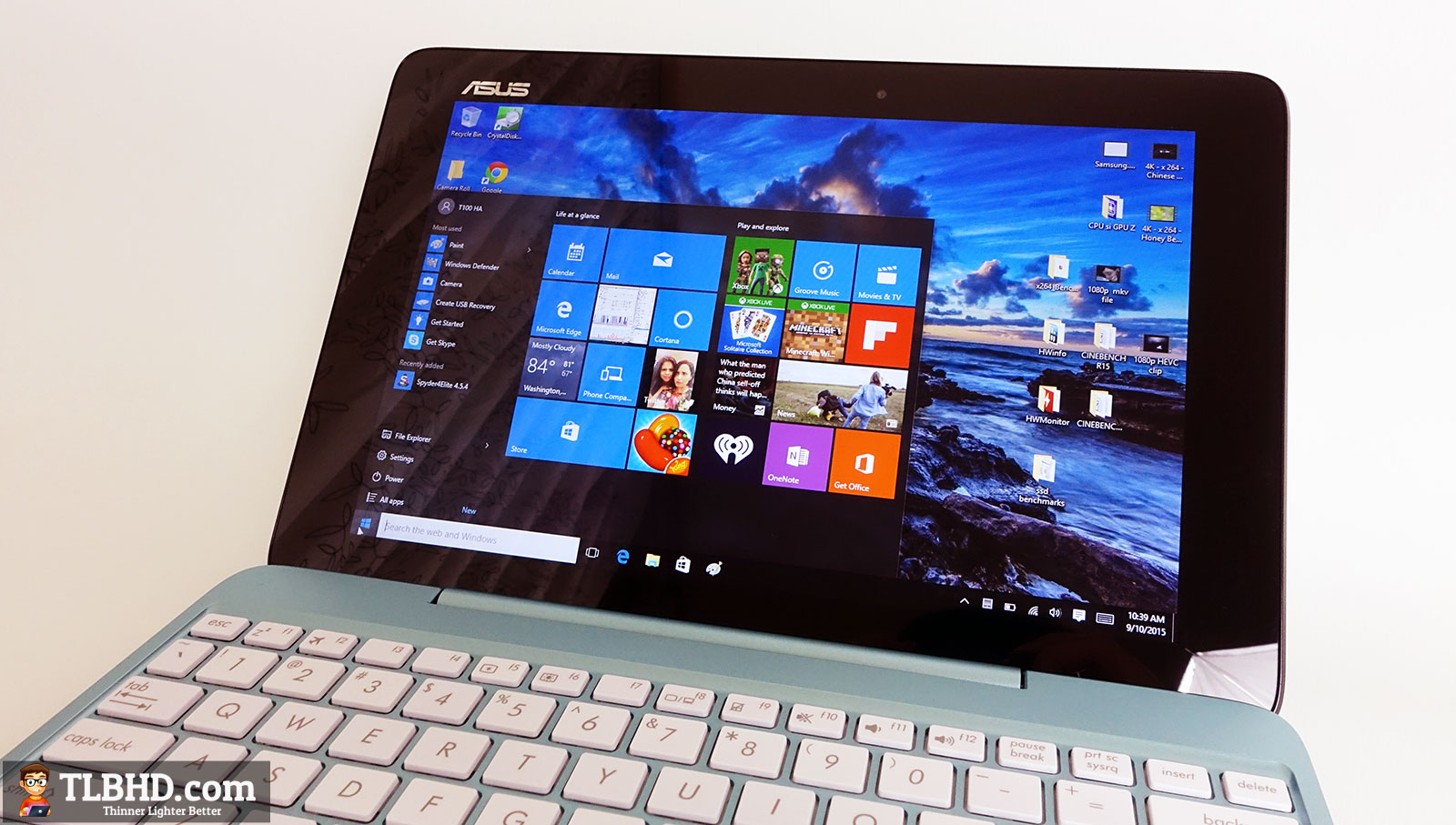 Asus Transformer Book T100ha Review The Cherrytrail Update